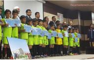 جشن پايان ترم اول مدرسه فوتبال بلوكى دردانشگاه آزاداسلامی مرکزاوزبرگزارشد