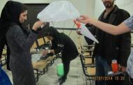 سومین دوره مسابقه نجات تخم مرغ در دانشگاه
