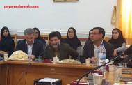 مدیرکل فرهنگ وارشاداسلامی فارس درجمع اصحاب فرهنگ بخش اوز
