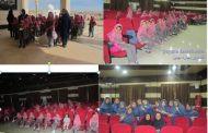 دانش آموزان مجتمع آموزشی فرهنگی مهرماه با حضور در سینما فردوسی اوز خیریه شیخ عبدالقادر فقیهی، 13 آبان روز دانش آموز را گرامی داشتند