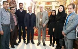 بازدید اعضای هیئت علمی و اساتید دانشگاه شهید بهشتی تهران از موزه مردم شناسی اوز