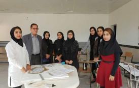 مشارکت دانشجویان دانشگاه آزاد اسلامی اوز در آئین روز بخش اوز