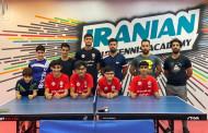 اردوی آموزشی بازیکنان تنیس روی میز اوز در شهرستان کرج برگزار شد