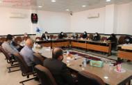 نشست مشترک با منتخبان دور ششم شورای اسلامی اوز