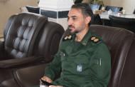 فرمانده ناحیه بسیج مقاومت سپاه پاسداران شهرستان اوز با حضور در دانشگاه آزاد در وبینار استانی شرکت کرد