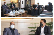 دیدار فرماندار و سرپرست بهزیستی شهرستان اوز با مدیر کل بهزیستی استان فارس