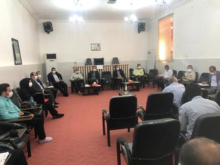 جلسه شورای اداری بخش بیدشهر با حضور فرماندار شهرستان اوز برگزار شد
