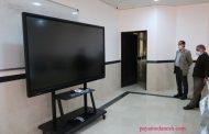 اهدای دستگاه تخته هوشمند (Smart board)به دانشگاه آزاد اسلامی مرکز اوز
