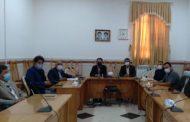 جلسه هیئت امنای ورزش شهرستان اوز به میزبانی فرمانداری برگزار شد