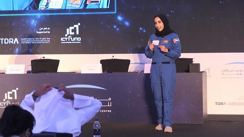 نورا اولین زن جهان عرب که به فضا می رود