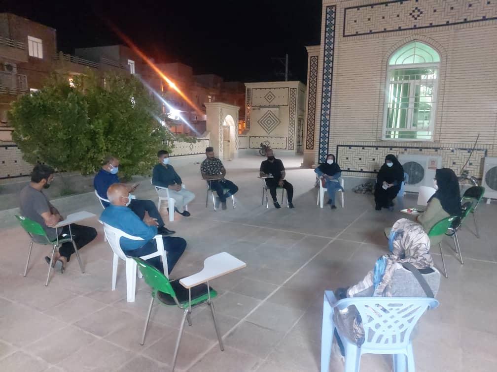 گزارش عبدالرحمان صالح از برگزاری جلسه هم اندیشی کمیسیون شورای محلات