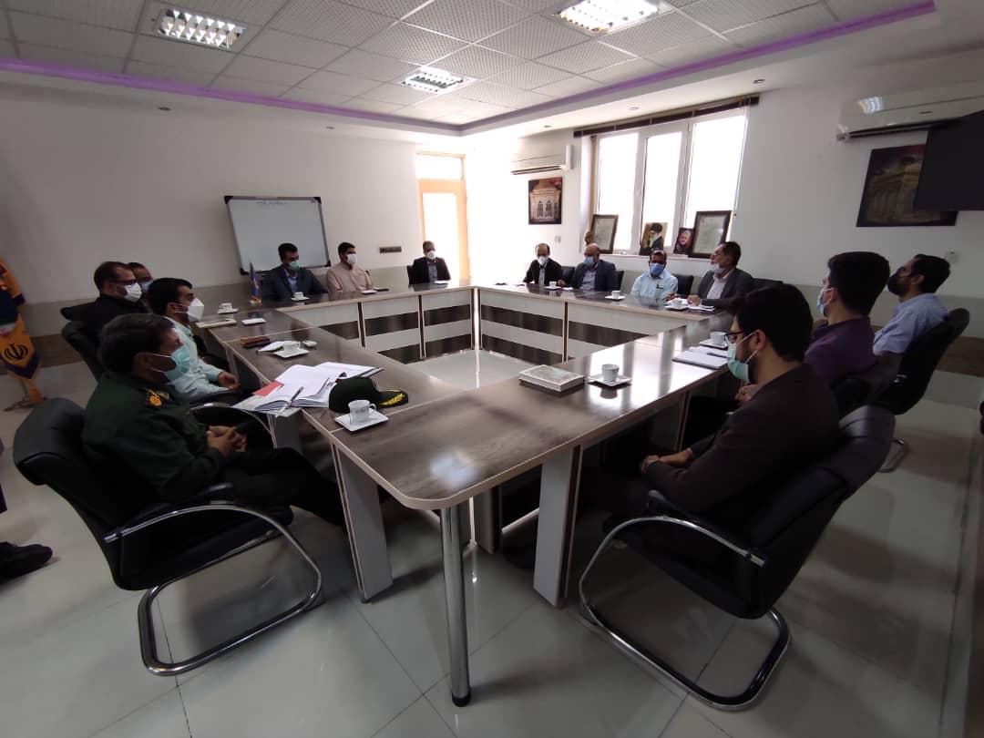 گفتگو پیرامون بازگشایی دانشگاه ها در نشست مدیران فرهنگی ناحیه بسیج دانشجویی لارستان