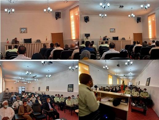 در پاسداشت هفته ناجا با خانواده شهدای بخش های بیدشهر مرکزی تجدید میثاق شد